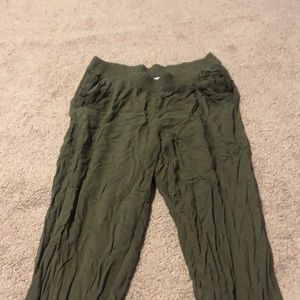 Green lose weight pants